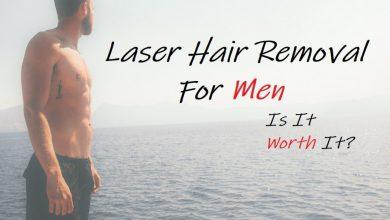 اضرار ازالة الشعر بالليزر للمنطقة الحساسة للرجال