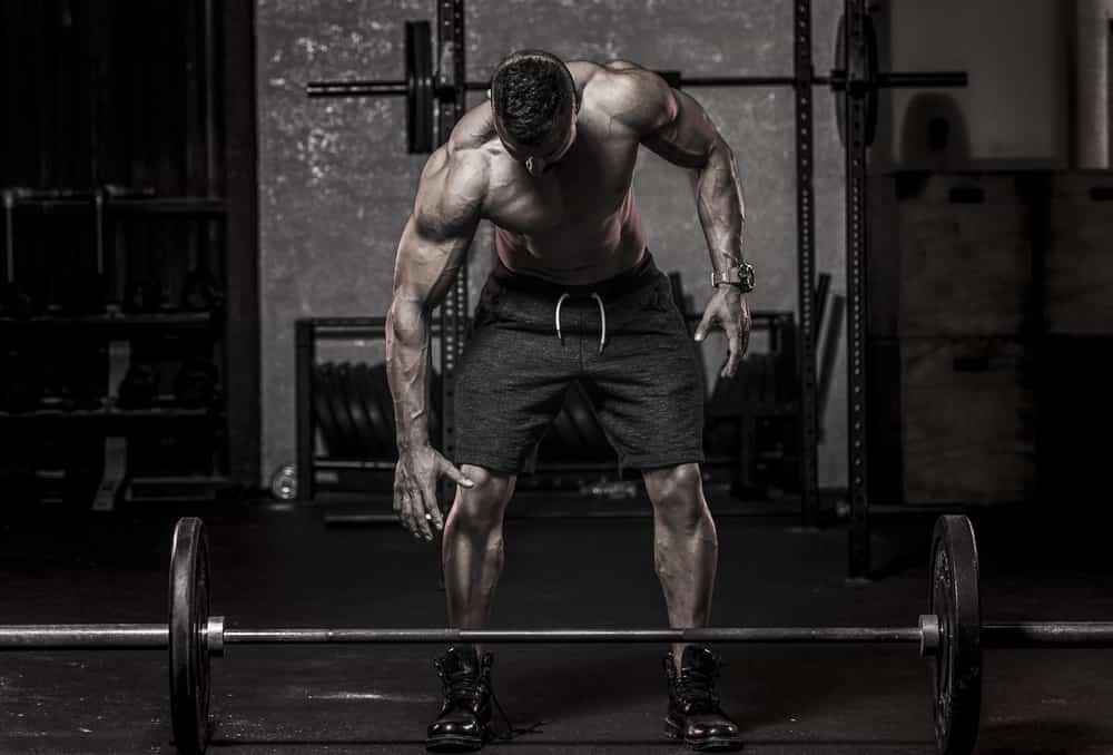بناء العضلات في شهر