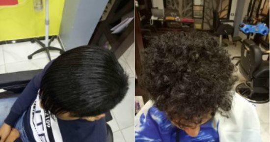فرد الشعر للرجال