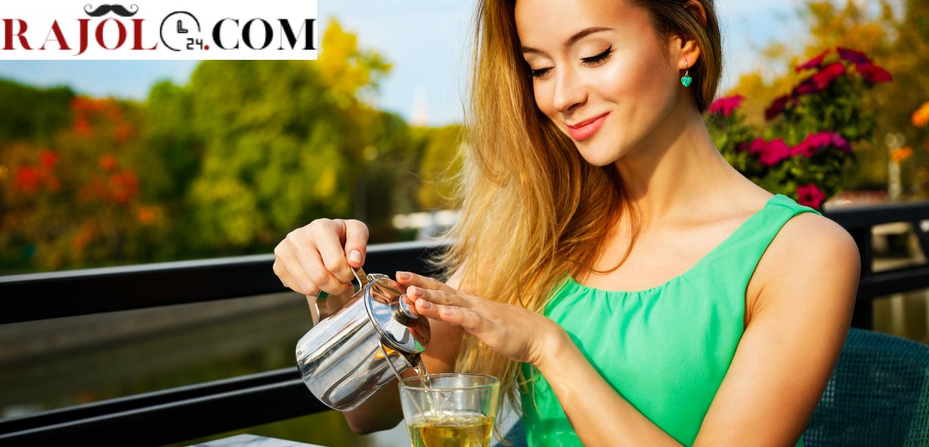 فوائد الشاى الاخضر للشعر